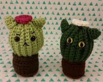 Cat-cus the cactus kitty cat amigurumi