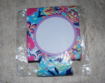 Lilly Pulitzer Inspired Can Coolers