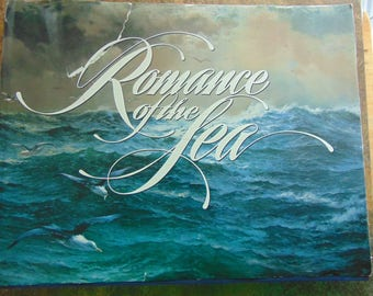 Romance of the Sea Book , 1981 First Edition , J H Parry , National Geographics , Pirates , Vikings, Tales of the Sea