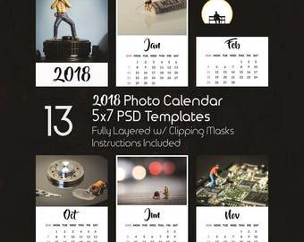 5x7 calendar | Etsy