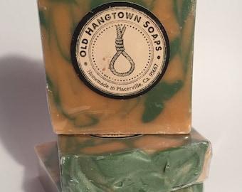 Lemon Verbena Soap, Yankee Type, Cold Process Soap, Homemade Soap, Handmade Soap, Vegan Soap