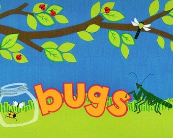 Bugs Title Over-alls Page Topper 6x12 Title Scrapbooking Scrapbooks Ek Success Embellishments Cardmaking Crafts