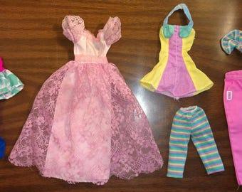 80's & 90's Vintage Barbie Clothes