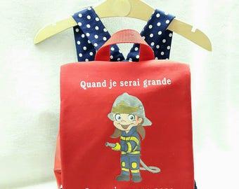 personalized kindergarten kids backpack