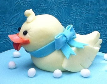 Ducky large cake topper