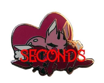 SECONDS - The Sugar Jackalopes - Hard Enamel Pin