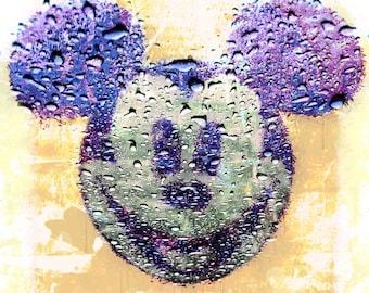 Rainy Mickey in Bangkok