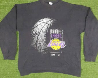 Vintage Authentic Los Angeles Lakers Sweatshirt