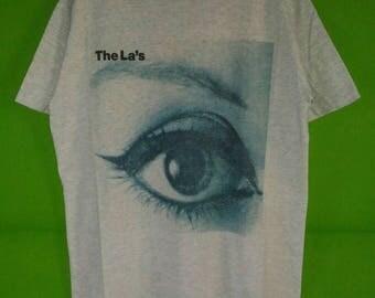 Vintage 90s Rare The La's Tour Tshirt