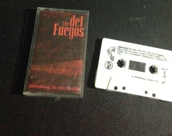 The Del Fuegos - Smoking in the Fields audio cassette tape 1989