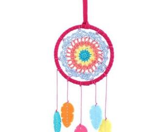 crochet multi dreamcatcher