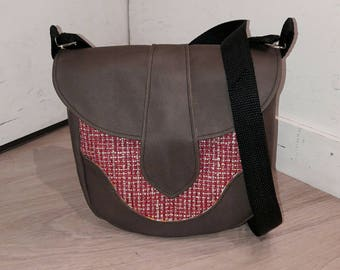 """""""Dollie"""" leather shoulder bag"""