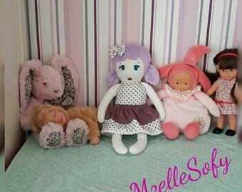 """Doll cloths ptites poupettes """"Poly"""""""