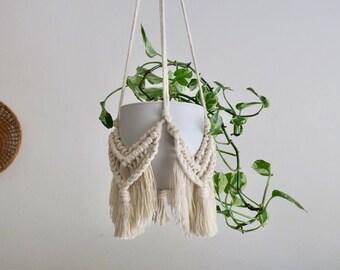Macrame Wrap Hanger, Macrame Plant Hanger