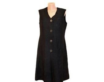 Vintage Diekmann Couture black dress