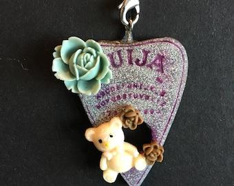 Handcrafted ouija keychain