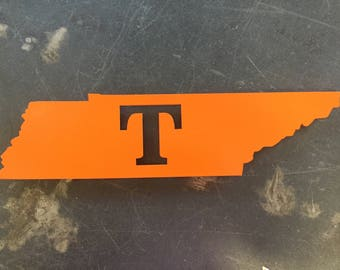 University of Tennessee Metal Sign