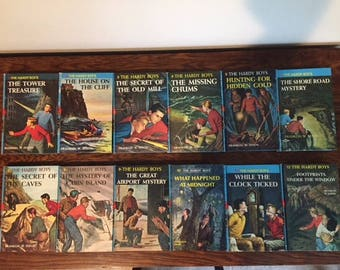 12 Hardy Boys books