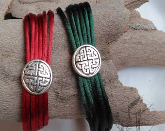 Bracelets of commitment. Elegant bracelets of Celtic design. For her and for him