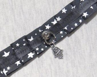 Star kitten play collar