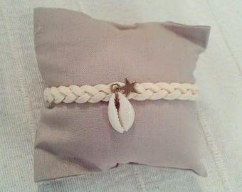 """Cowrie"" Bohemian bracelet"