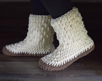 Slipper Boots, Womens Slippers, Slippers Women, Gift for Her, Gift for Women, Gift for Wife, Gift Under 40, Gift for Girlfriend, Easter Gift
