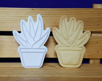 Succulent Sirius Cookie Cutter and Stamp
