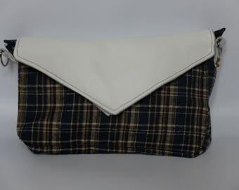 Handbag, envelope format,