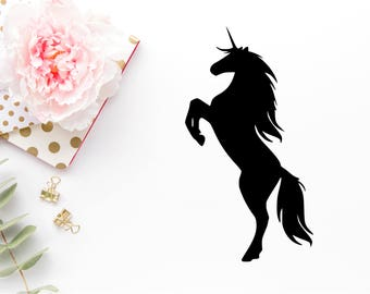Unicorn Svg - Unicorn Png - Unicorn Dxf - Unicorn Cut File