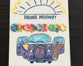 Radiate Positivity Canvas