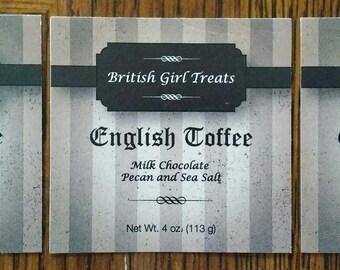 English Toffee Sampler