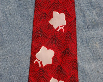 1940s vintage tie, Lindy hop, jive