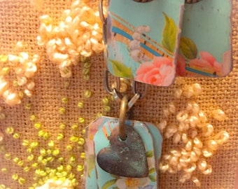 Vintage repurposed necklace set