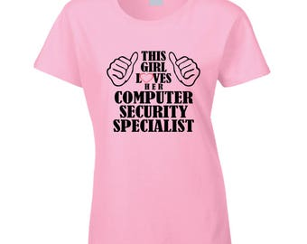 Computer Security Specialist T Shirt