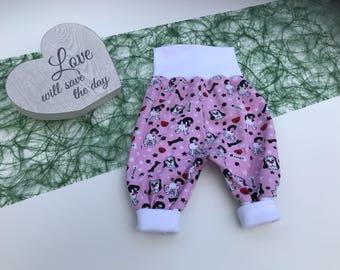 Baby bloomer, baby pants, harem pants,