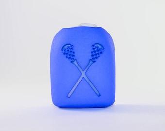 Clip-On Omnipod Pod Cover - Lacrosse Sticks