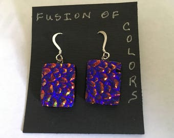 Fused Dichroic Glass Jewelry
