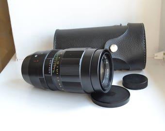 Jupiter-21M 4/200 mm M42 Russian USSR lens, S/N 91009674