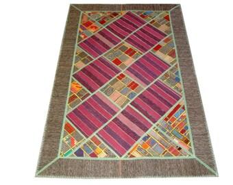 Persian Patchwork Kilim Rug PRH104, 137x211