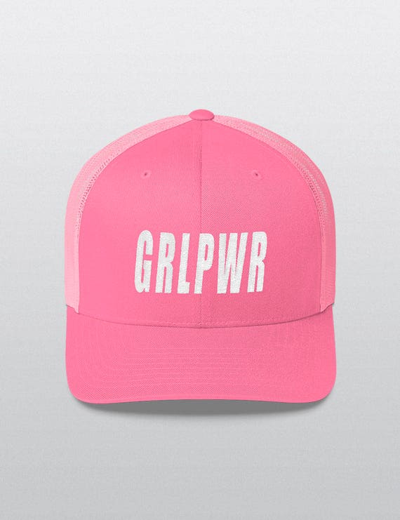 GRL PWR | Six Panel Trucker Cap
