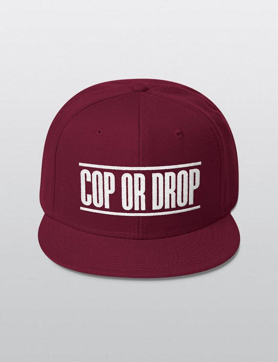 COP OR DROP | Wool Blend Snapback Cap