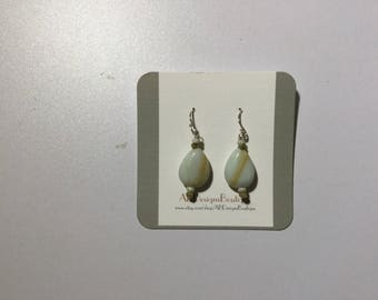 Agate Bead Earrings