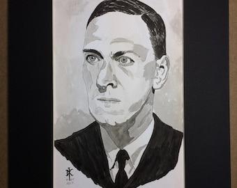 Original Drawing - H. P. Lovecraft