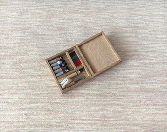 Dolls House Miniature Painting Box