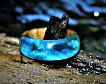 Wood/Resin Hybrid rings