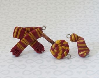 Gryffindor House Pride Charms