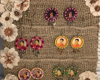 Frida Khalo Earrings
