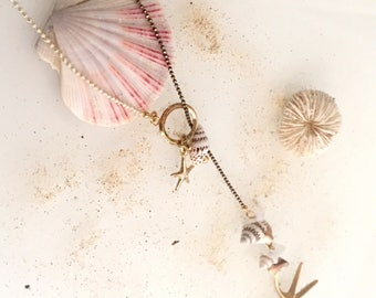 "Necklace ""starfish"""