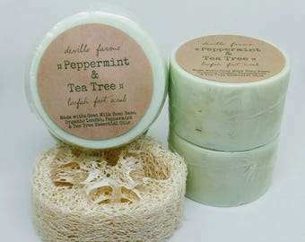 Peppermint & Tea Tree with Loofah