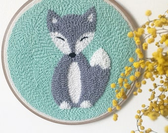 """Embroidery """"LITTLE FOX"""""""